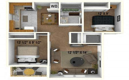 The Ritz Floor Plan 2