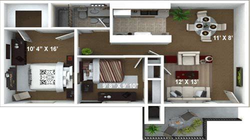 Floor Plan C Floor Plan 3