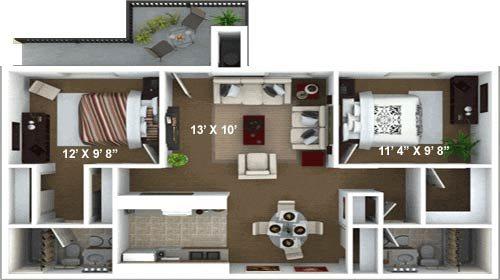 Floor Plan D Floor Plan 4