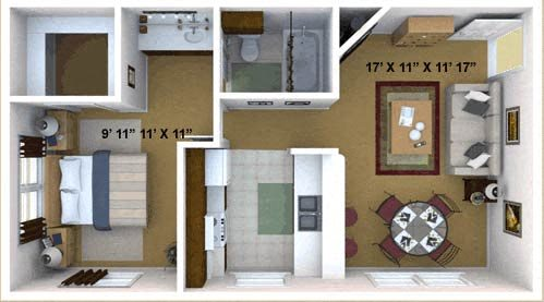 The Cypress Floor Plan 1