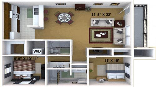 The Joshua Floor Plan 3