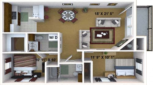 The Seguoia Floor Plan 4