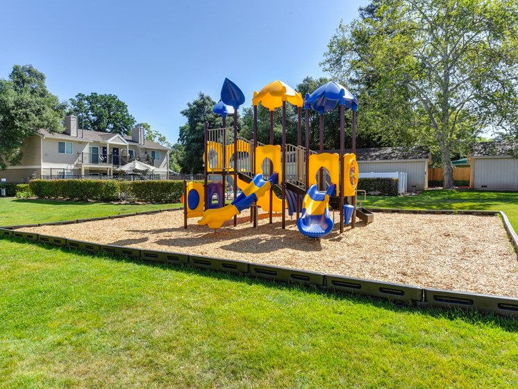 Luxury Apartment Community Outdoor Playground