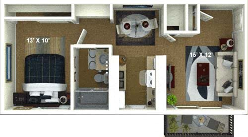 The Milan Floor Plan 1