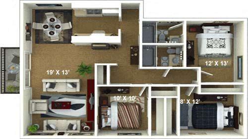 The Naples Floor Plan 6