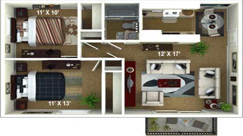 The Sienna Floor Plan 3