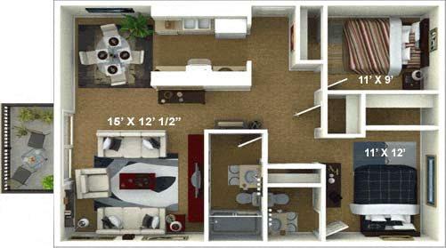 The Tuscany Floor Plan 4