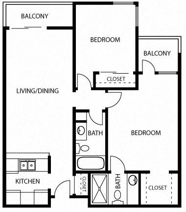 Barcelona Floor Plan 15