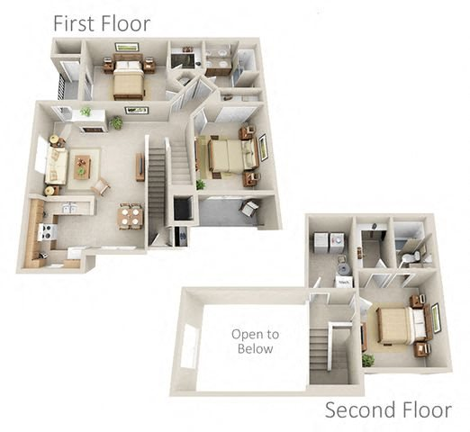 Available 3 Bedroom Apartments: One, Two, And Three-Bedrooms Available