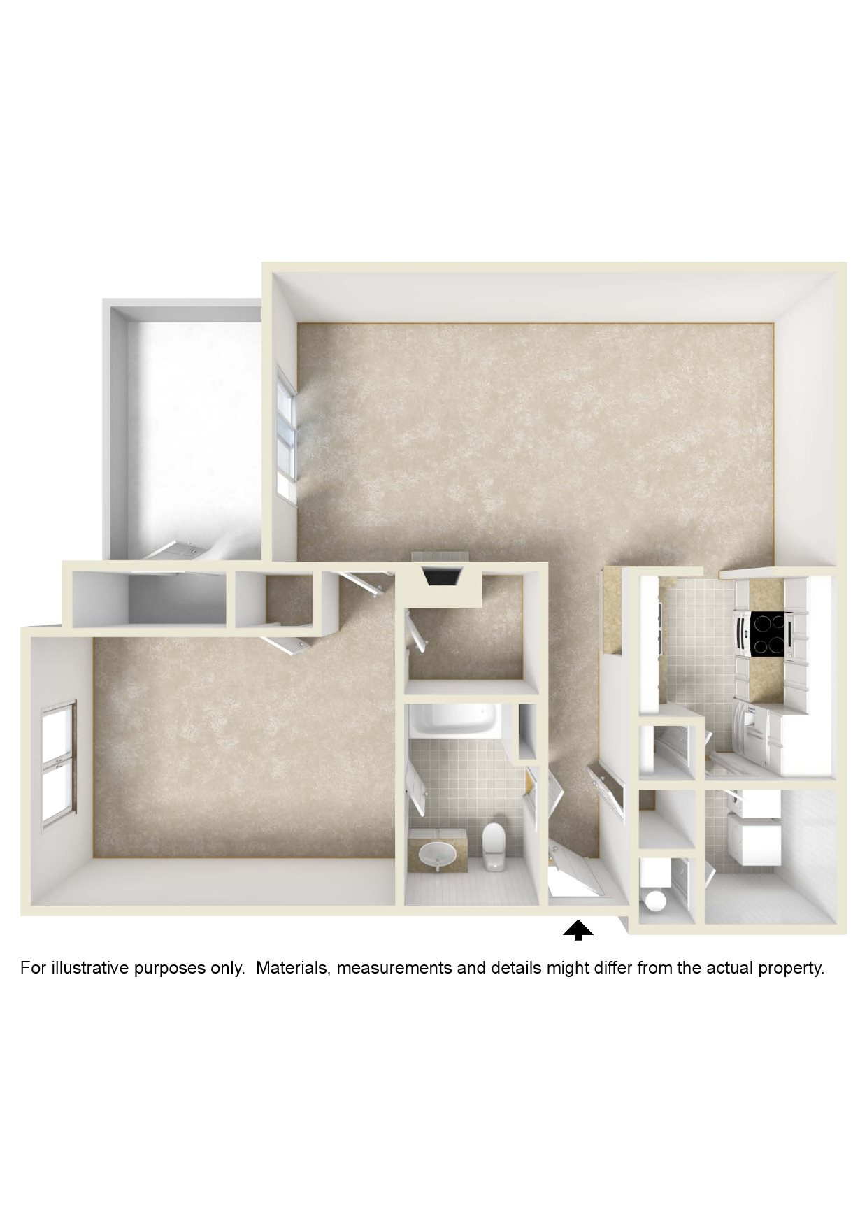 The Cayman Floor Plan 1