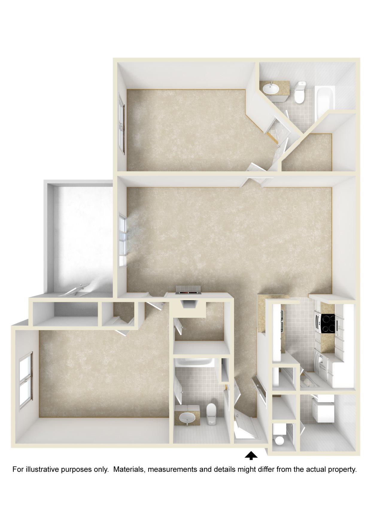 The Cancun Floor Plan 2