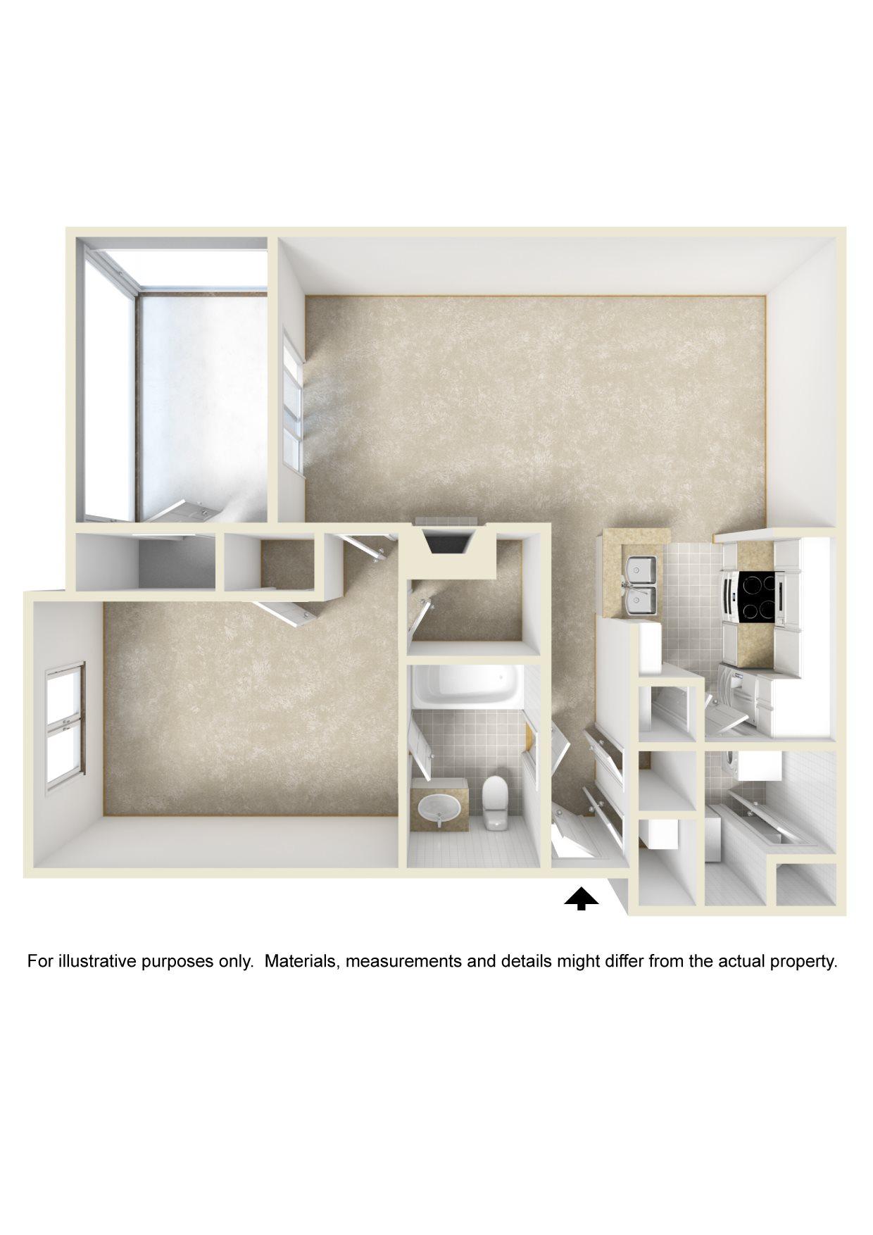 The Crown Floor Plan 1