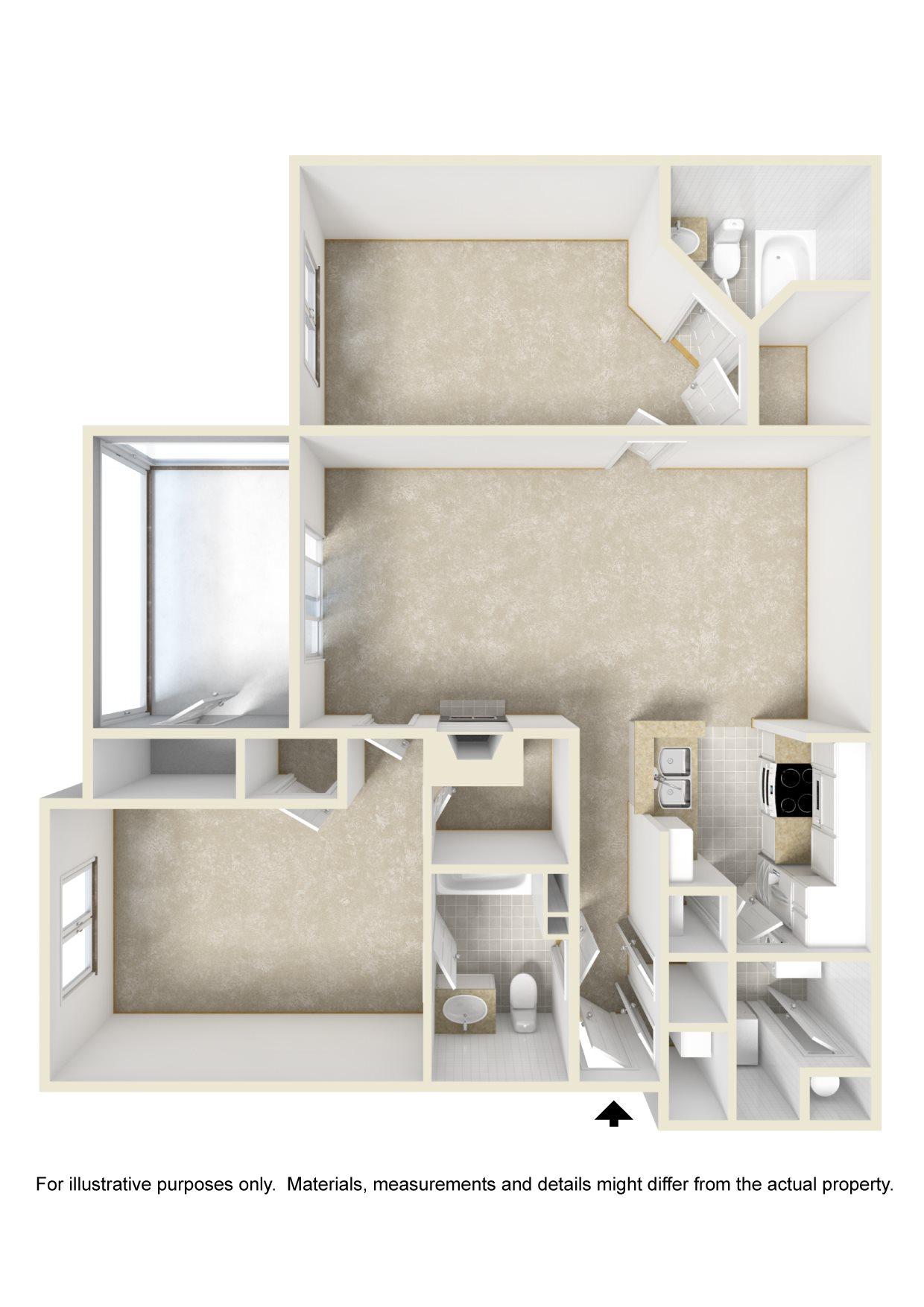 The Royale Floor Plan 2