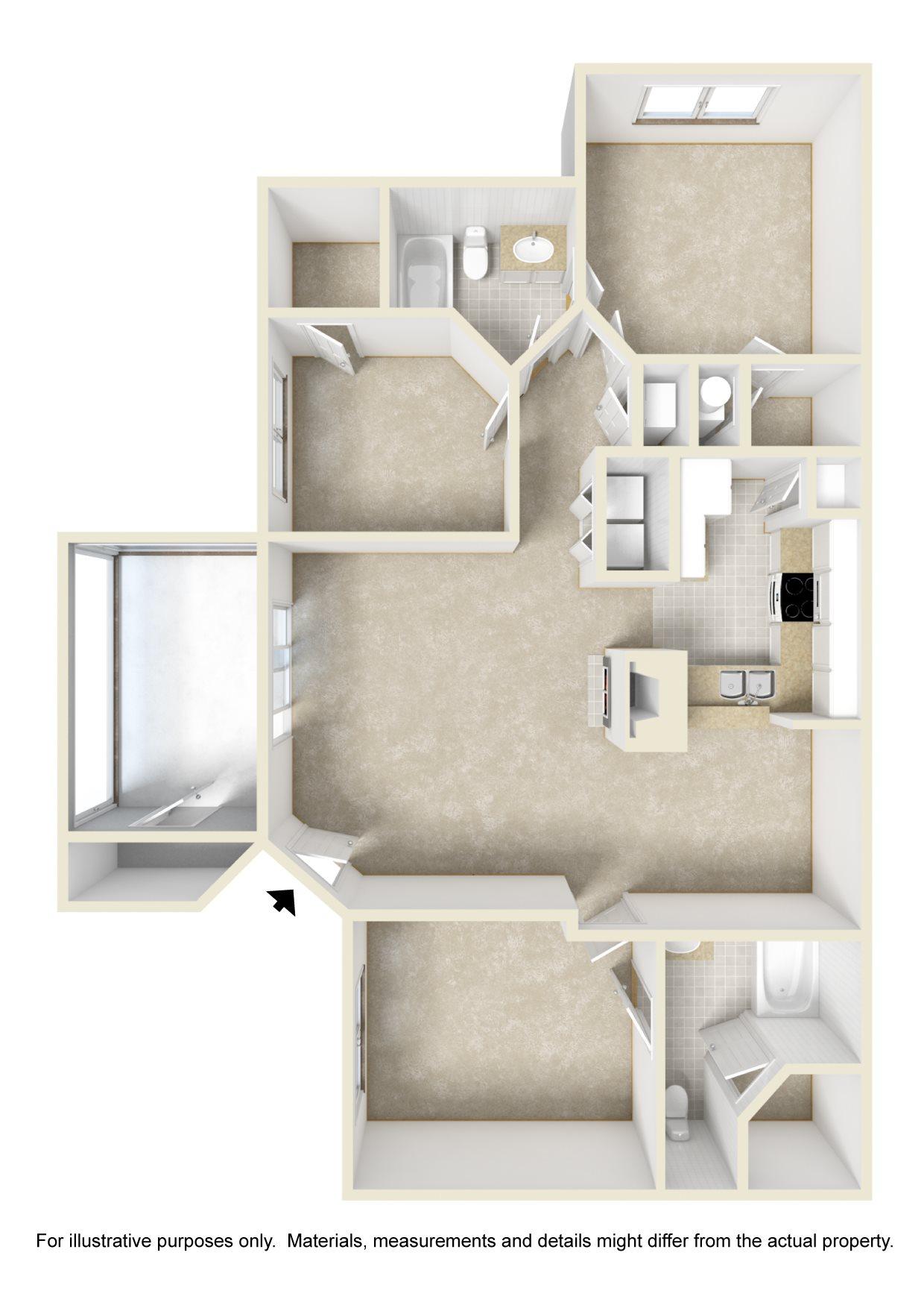 The Majestic Floor Plan 3