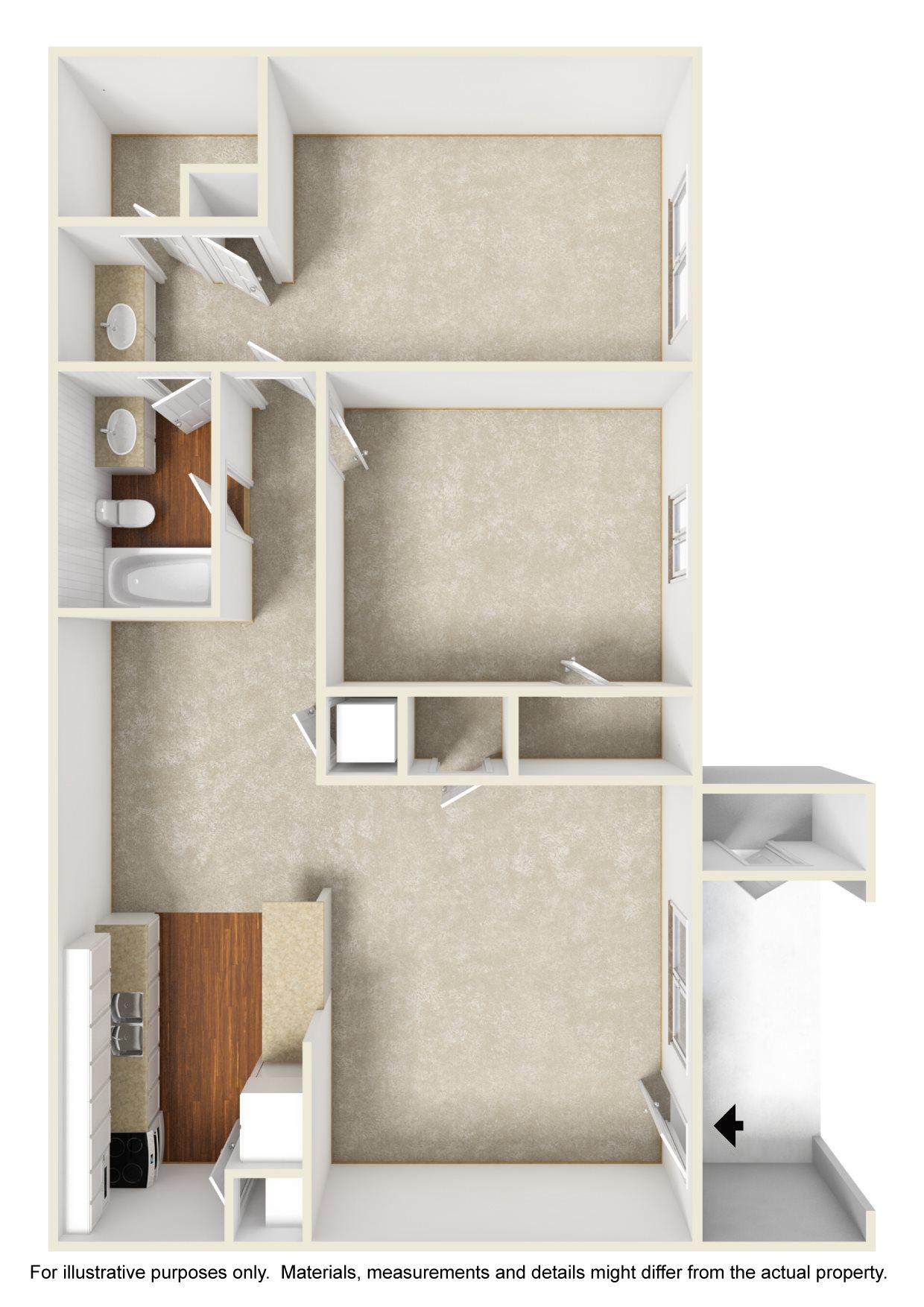 The Cordova Floor Plan 2