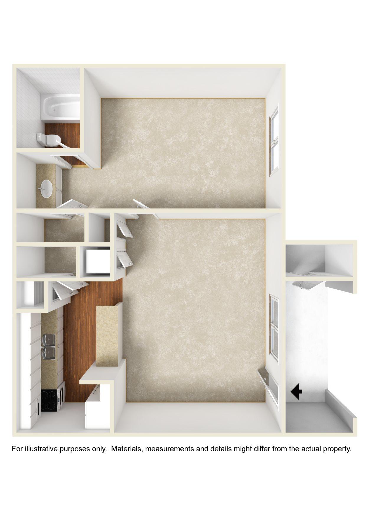 The Crest View Floor Plan 1
