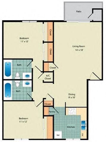 The Gardenia Floor Plan 3