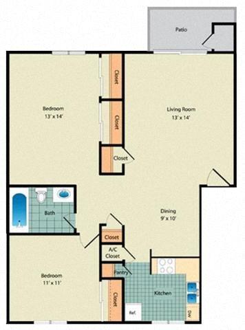 The Magnolia Floor Plan 2