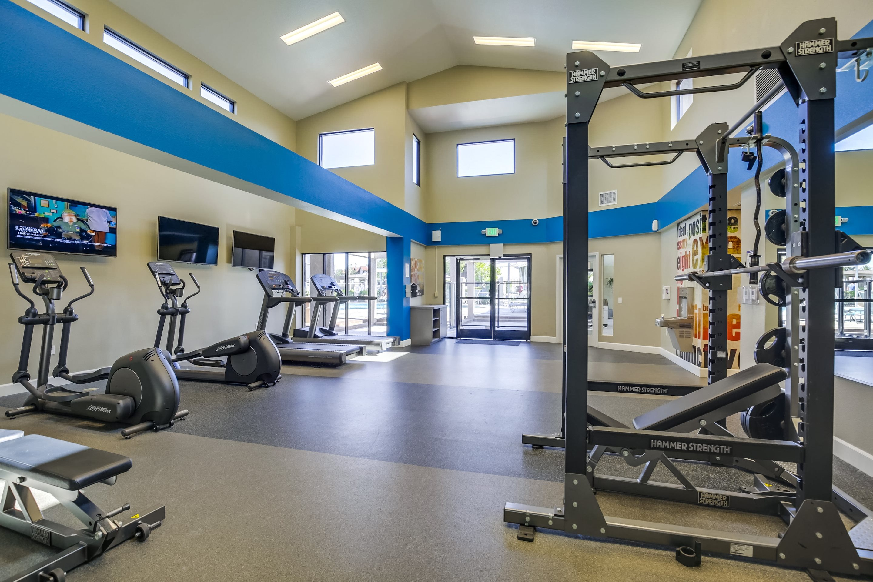 Vista Promenade Luxury Apartment Homes Lifestyle - Fitness Center