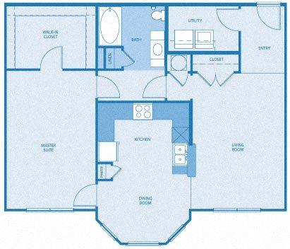 North Haven Floor Plan 1