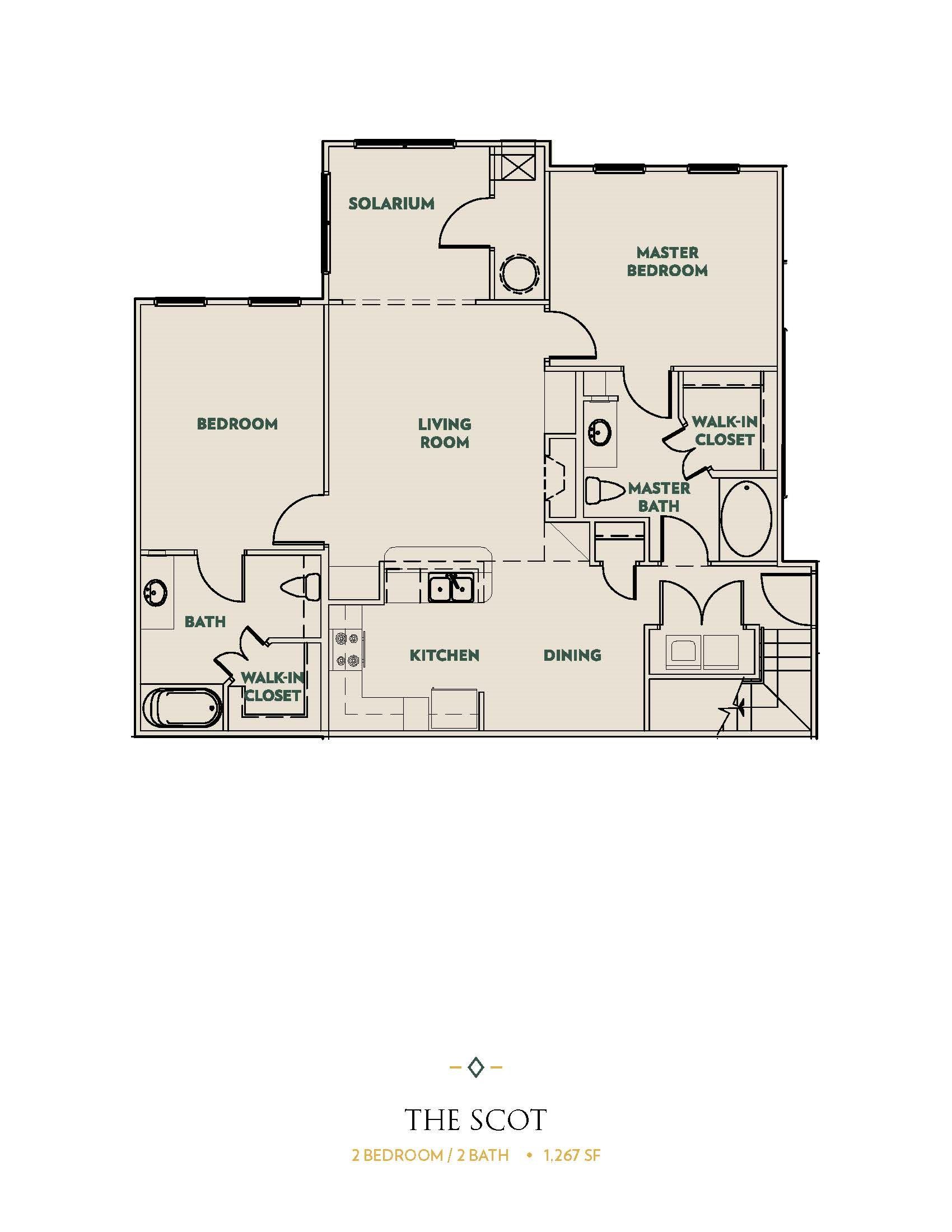 The Scot Floor Plan 3