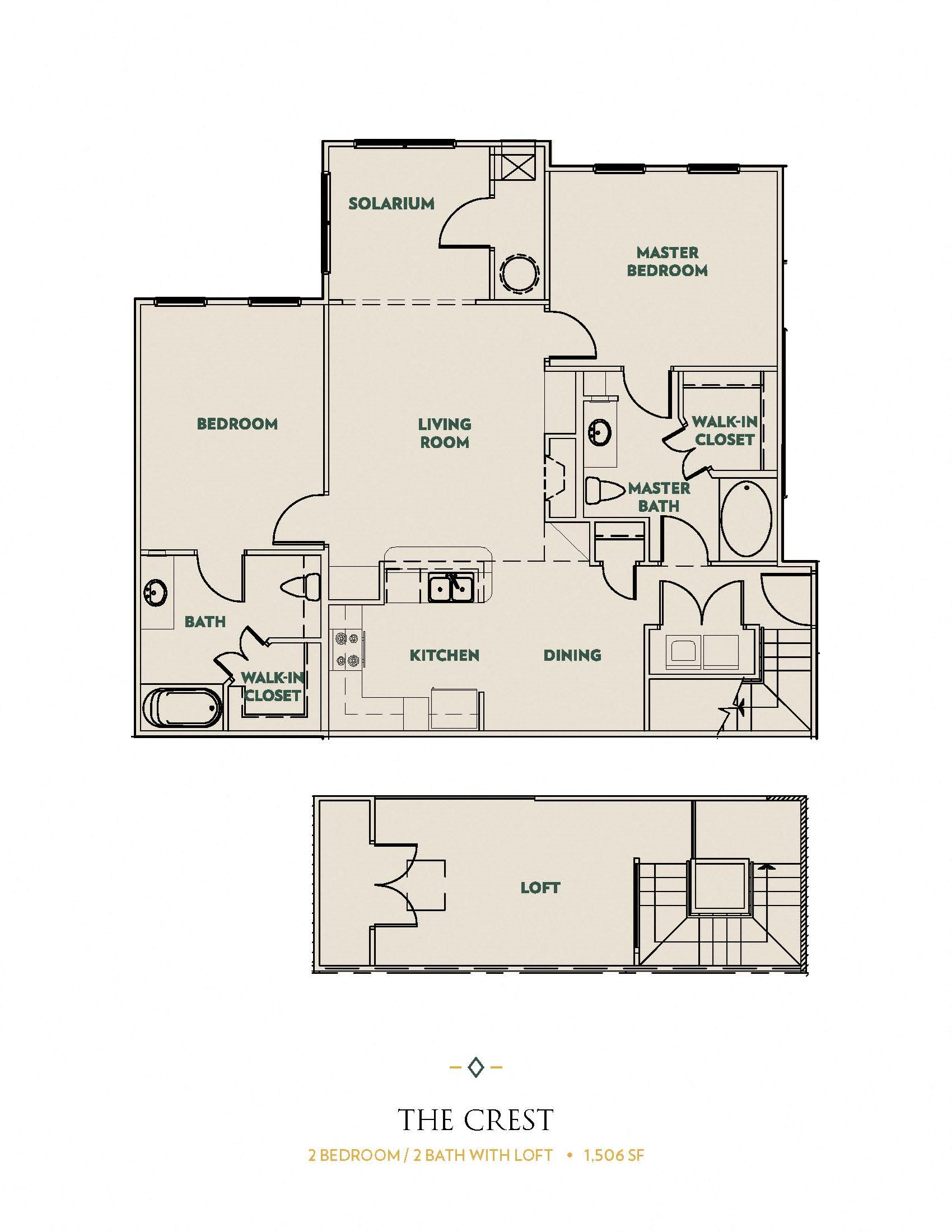 The Crest Floor Plan 4