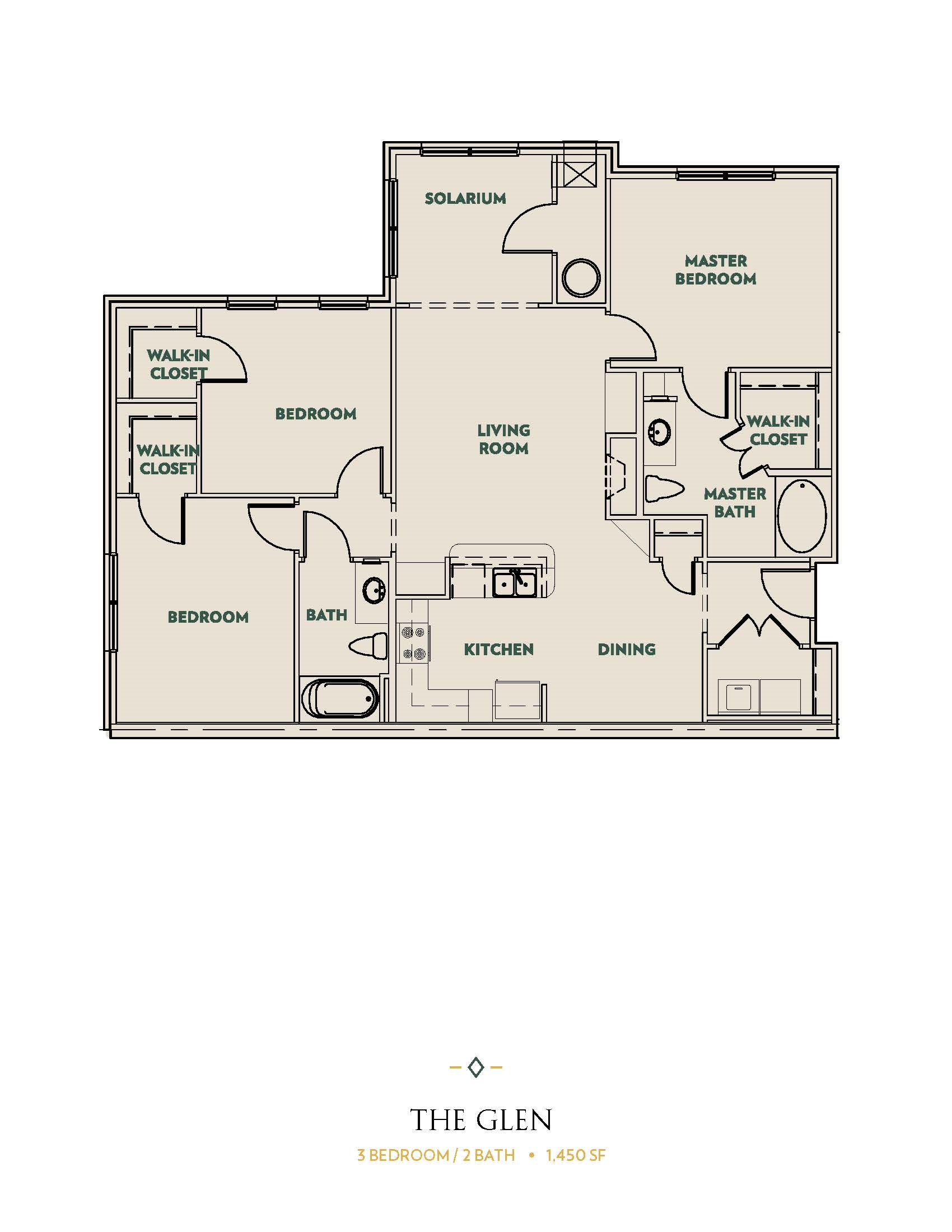The Glen Floor Plan 5