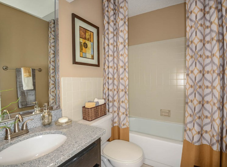 Veridian Townhomes apartments Melbourne, FL 32935 large bathrooms
