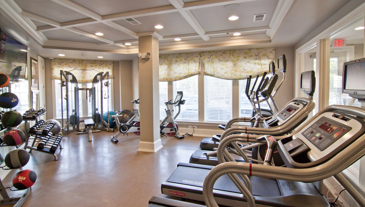 Health and Fitness Center with Free Weights at Kensington Place, Woodbridge, VA