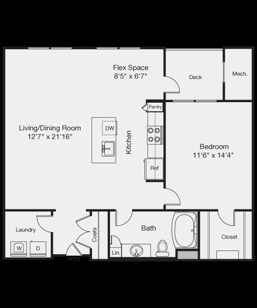 The Webster Floor Plan 2