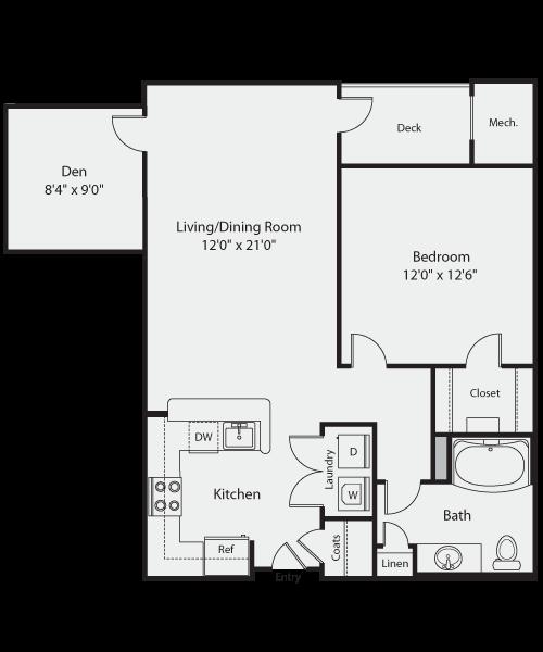 The Porter Floor Plan 1