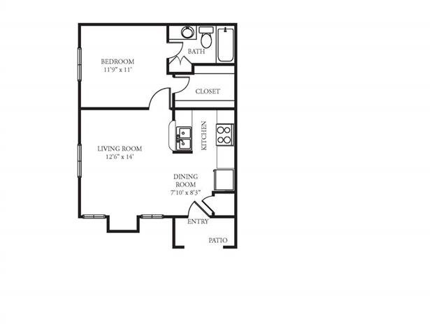 The Westside Apartment Homes - 1 Bedroom 1 Bath Apartment