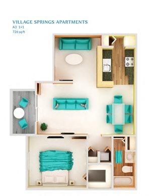 1 Bedroom A3P