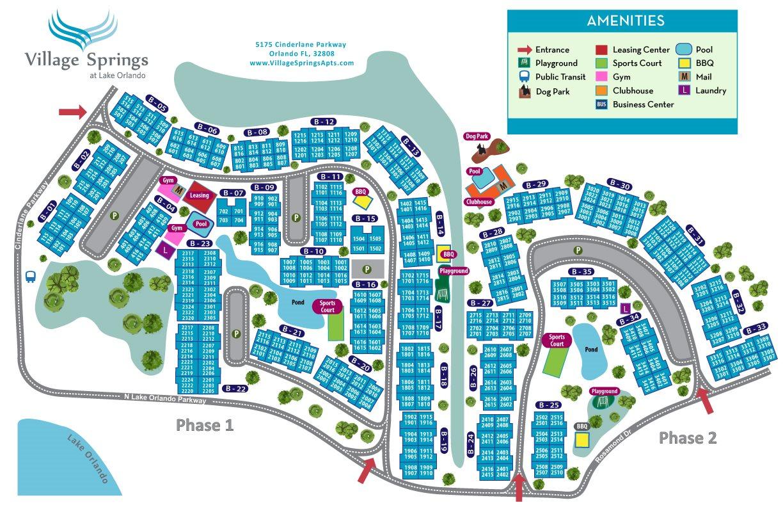 Village Springs Apartments Orlando