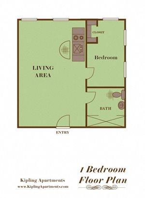 1 Bedroom A4