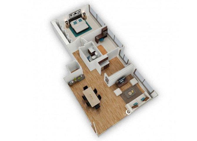 Austin floor plan.