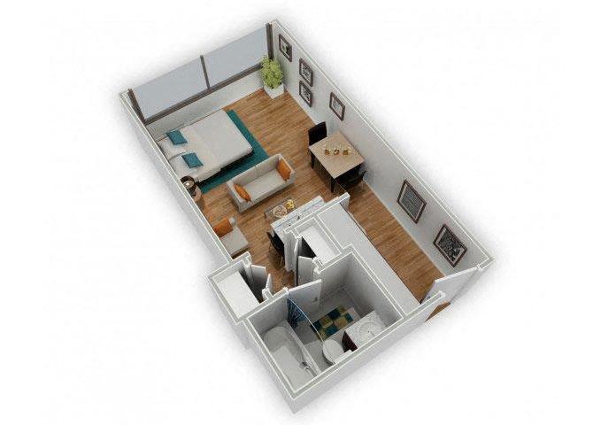 Cass floor plan.