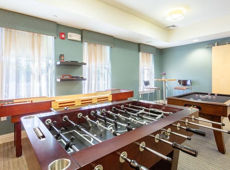 Game Room Foosball Shuffleboard Bumper pool
