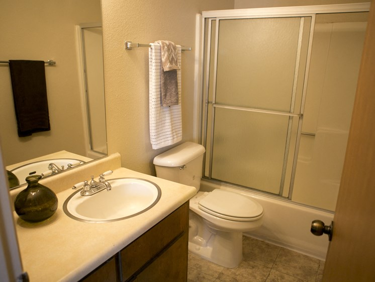 unremodeled 2x2 hall bath