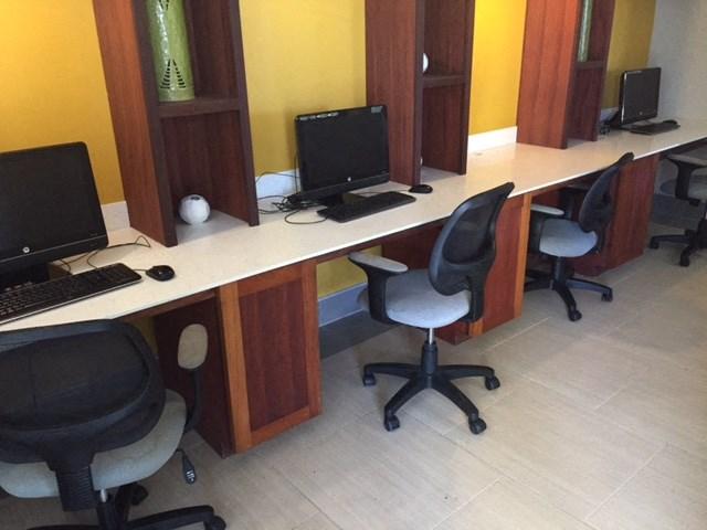Louis E. Brown Computer Room