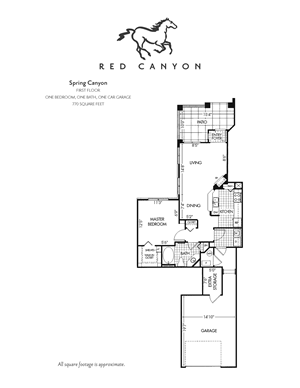 Spring Canyon - 1 Bed /1 Bath