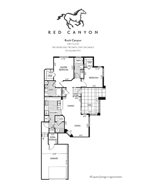 Rock Canyon -  2 Bed/2 Bath