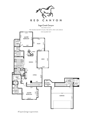 Sage Creek Canyon - 2 Bed/2 Bath with Study