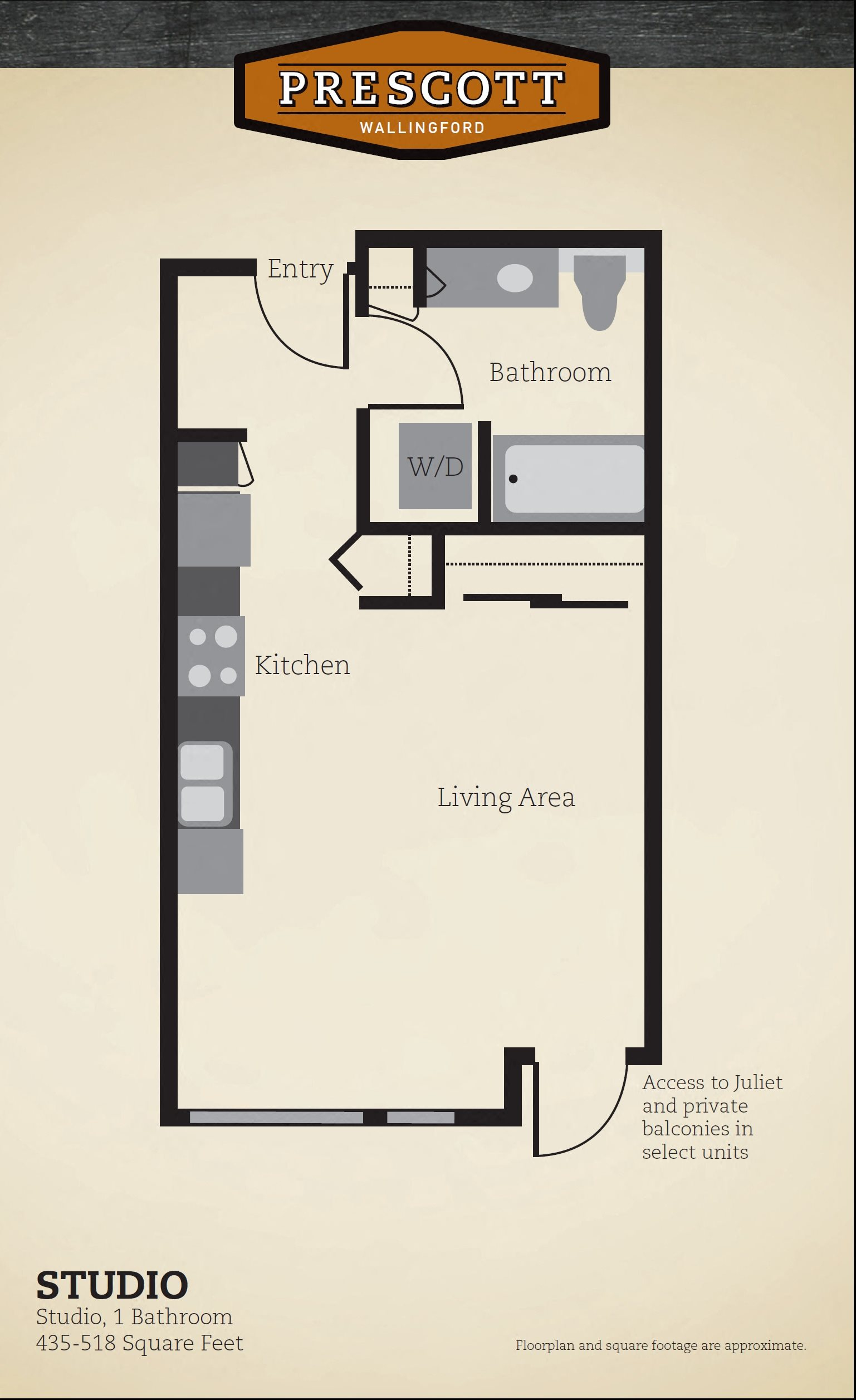 Studio Floor Plan 8