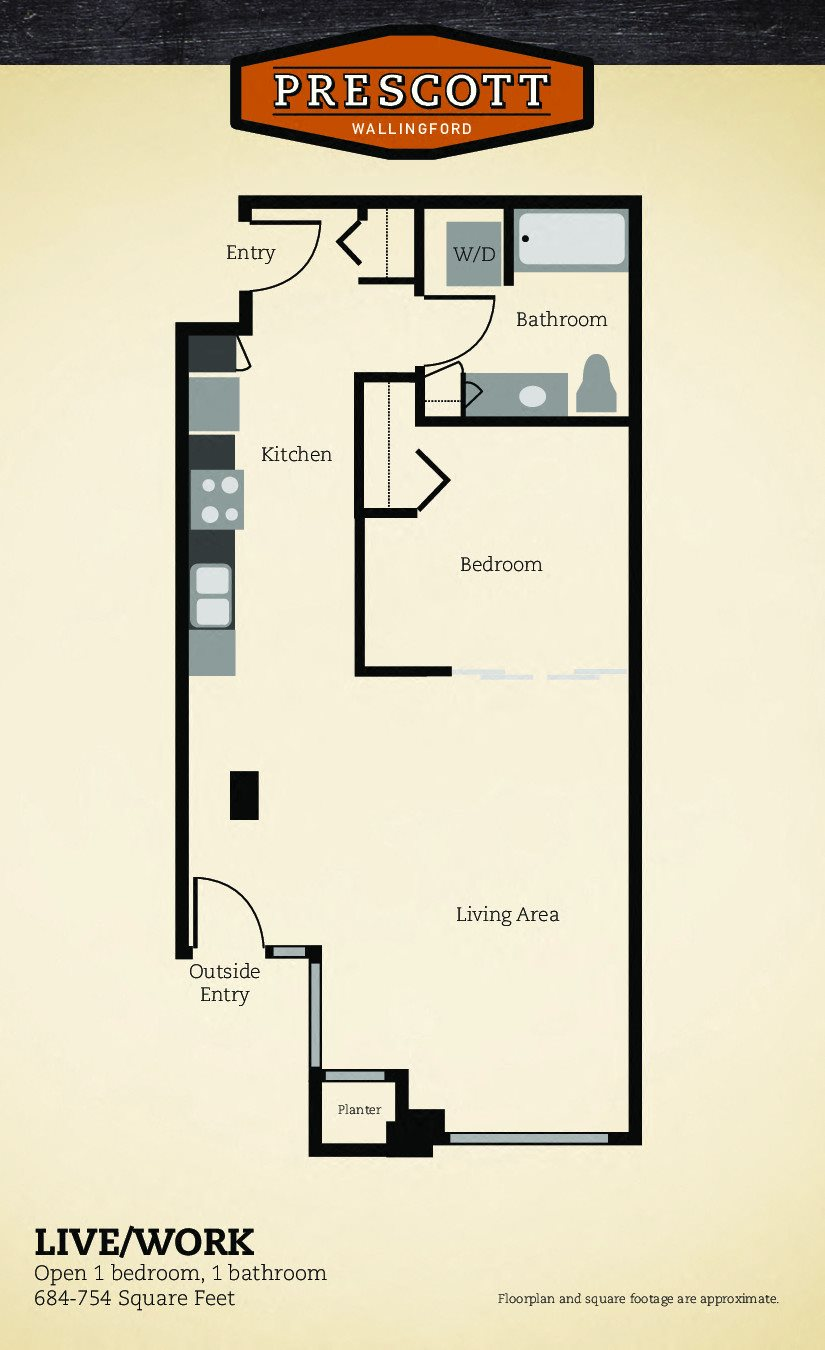 Live/Work Floor Plan 7