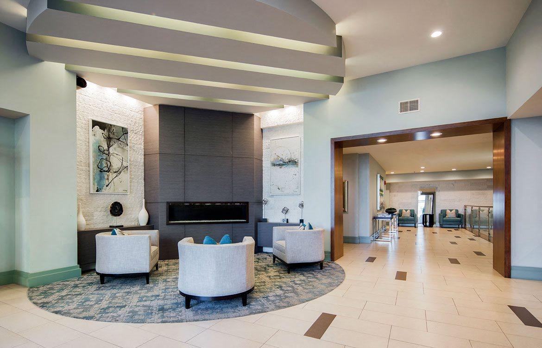 Spacious lobby, Apartments in Washington, D.C