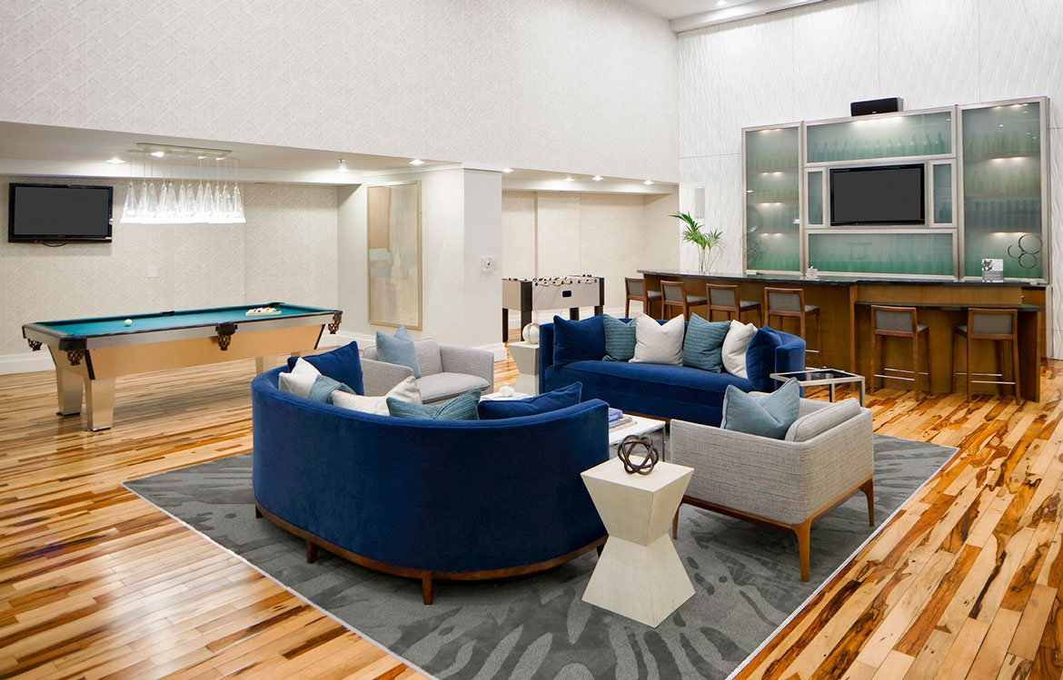 Resident lounge, Apartments in Washington, D.C