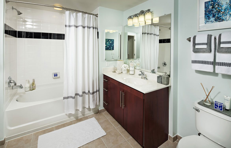 Model Bathroom, Apartments in Washington, D.C