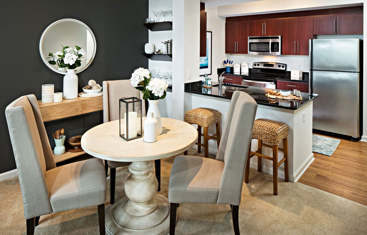 Model Dining Area, Apartments in Washington, D.C