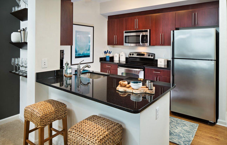 Model Kitchen, Apartments in Washington, D.C